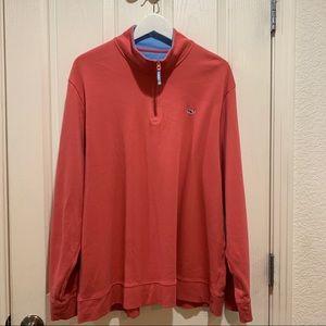 Vineyard Vines Shep Shirt NWOT XL Pink Sweatshirt